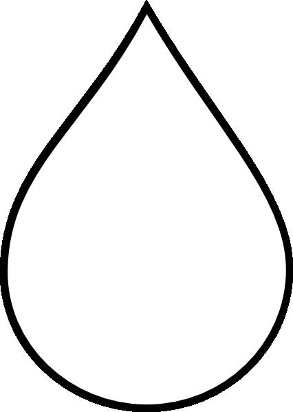 Tear Drop Shape Clipart