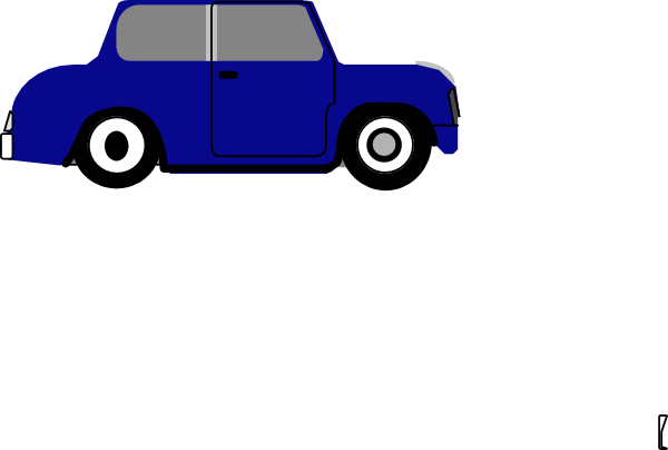 animated blue car 3 clip art at clker com vector clip art online rh clker com Car Clip Art Transparent Moving Car Clip Art