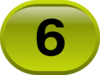 Button For Numbers 6 Clip Art