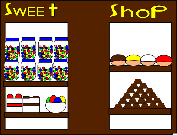 The Sweet Shop Clip Art at Clker.com - vector clip art ...
