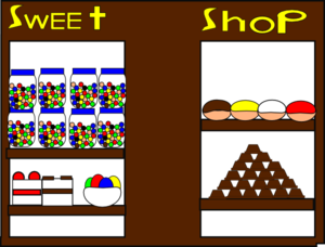 The Sweet Shop Clip Art at Clker.com - vector clip art online ...