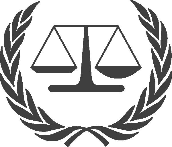 international law symbol clip art at clker com vector Scales of Justice Clip Art Lady Justice Clip Art
