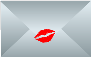 Sealed With A Kiss Closed Envelope Clip Art