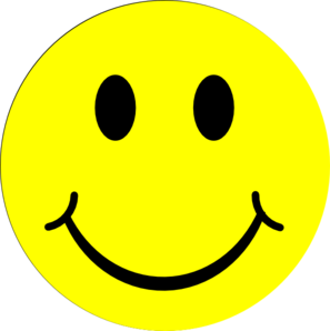 Yellow Happy Clip Art