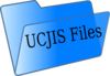Blue File Folder Cjis Clip Art