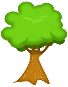 Bark Tree Clip Art