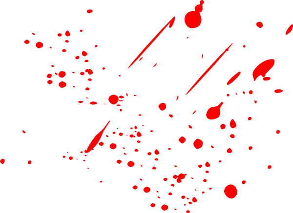 red paint splatter png