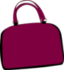 Purple Bag Clip Art