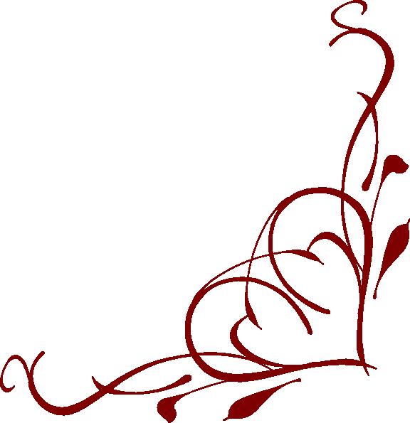 Heart Corner Clip Art at Clker.com - vector clip art online, royalty ...