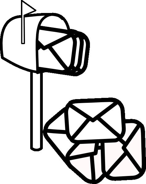 mailbox full of mail clip art at clker com vector clip art online rh clker com Postal Mailbox Clip Art Postal Mailbox Clip Art