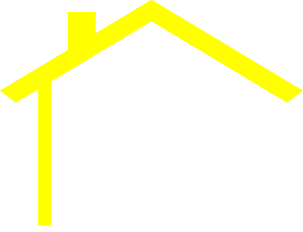 free house roof clip art - photo #11