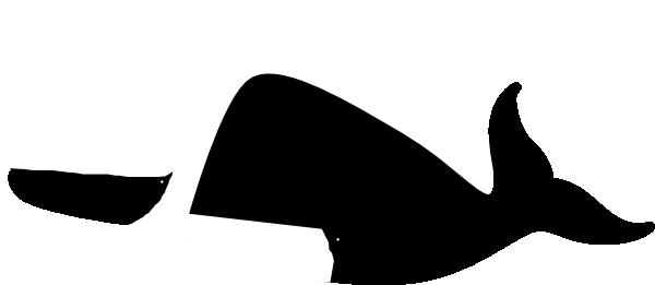 whale shadow puppet clip art at clker com
