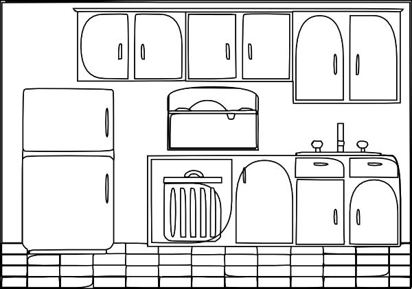 Kitchen Sink Lyrics Art kitchen sink clipart black and white   home design ideas