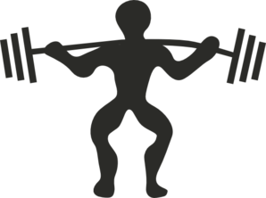Grey Lifting Clip Art