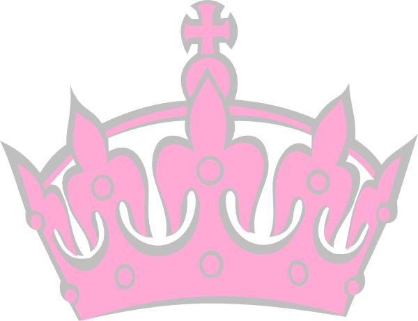Pink crown clipart - photo#28