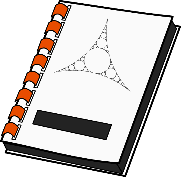 notebook cover clipart - photo #25