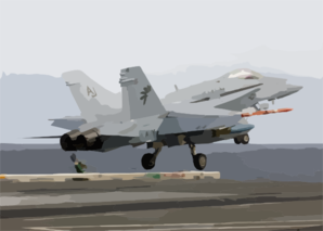 F/a-18c Launches Clip Art