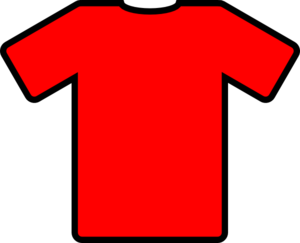 Red T-shirt Icon Clip Art