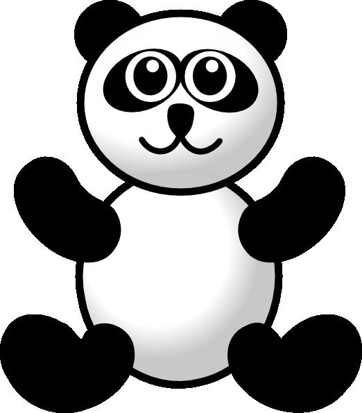 Clipart Panda Free Clipart Images: Panda Toy Clip Art At Clker.com