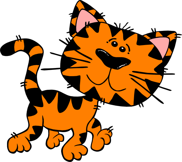 tiger kitty clip art at clker com vector clip art online royalty rh clker com free clipart tiger face free clipart tiger head