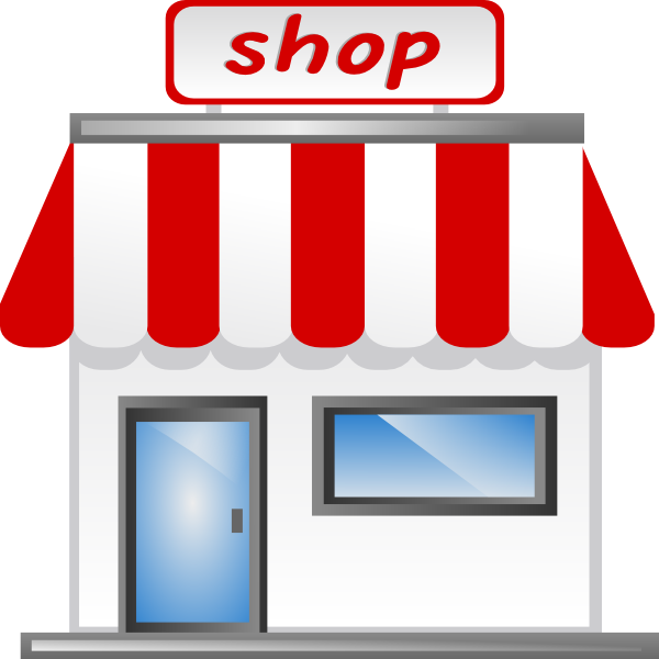 Store clip art at vector clip art online for Online shopping for the home