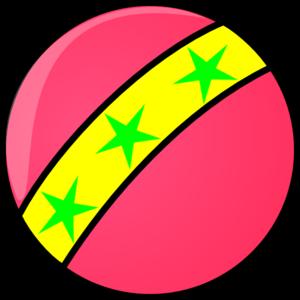 pink ball clip art at clker com vector clip art online royalty rh clker com ball clipart images ball clip art free