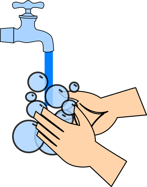 Washing Hands Clip Art at Clker.com - vector clip art ...