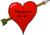 Monica 4ever Clip Art