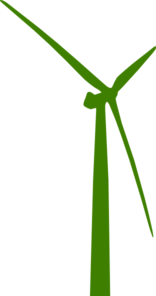 Green Turbine Clip Art
