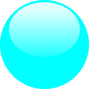 Bubble Sky Blue Clip Art