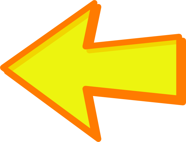 clipart yellow arrow - photo #12