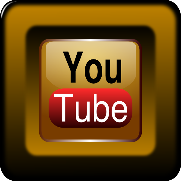 You Tube Icon Clip Art at Clker.com - vector clip art online, royalty ...