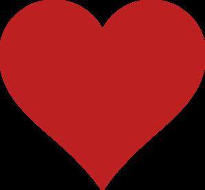 Red Heart Clip Art at Clker.com - vector clip art online ...