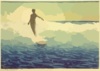 Hawaii Surfing Clip Art