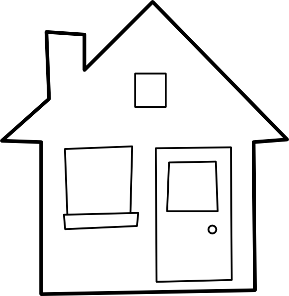 Maison House Clip Art At Clker Com Vector Clip Art