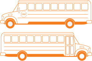 School Busses Clip Art