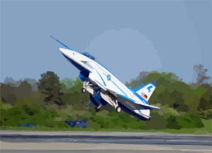 The X-31 Vector (vectoring, Extremely Short Takeoff And Landing, Control And Tailless Operation Research) Approaches The Ground At A 24 Degree Angle. Clip Art
