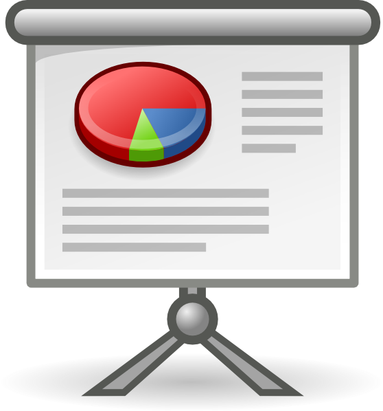X Office Presentation Clip Art At Clker Com Vector Clip