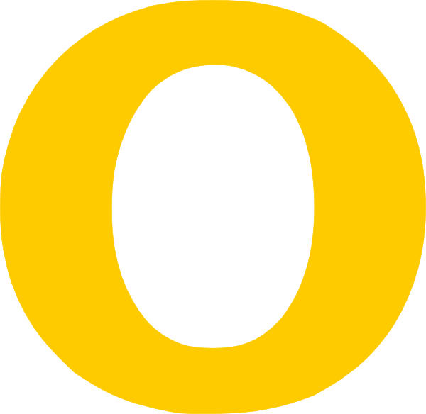 O Single Yellow Letter Clip Art at Clker.com - vector clip ...