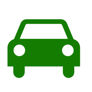 Green Car Silhouette Clip Art
