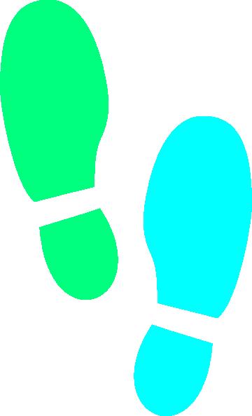shoe print clip art at clker com vector clip art online royalty rh clker com shoe print outline clipart shoe print clipart black and white