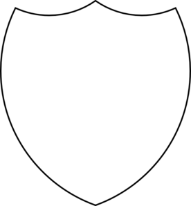 Shield Outline Clip Art