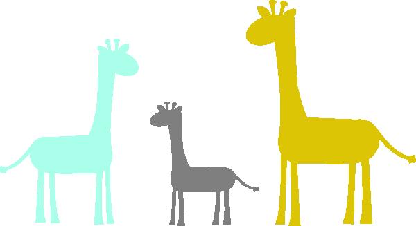 baby giraffe family clip art at clker com vector clip art online rh clker com baby giraffe clip art free cute baby giraffe clipart