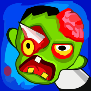 Zombie Ragdoll Gameicon Clip Art
