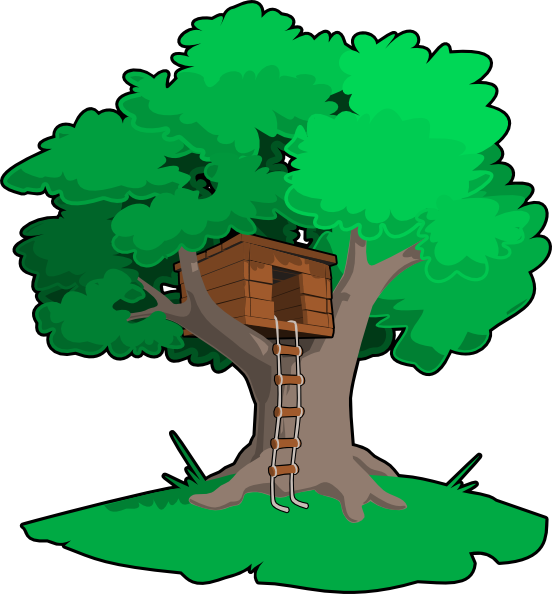 tree house clip art at clker com vector clip art online royalty rh clker com Magic Tree House Clip Art tree house clipart free