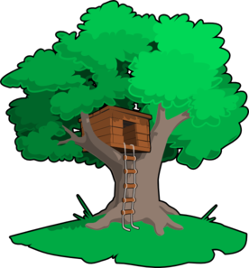 tree house clip art at clker com vector clip art online royalty rh clker com