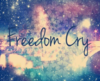 Freedom Cry Clip Art
