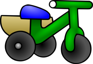 Child Tricycle Clip Art