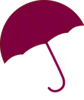 Purple Umbrella Clip Art