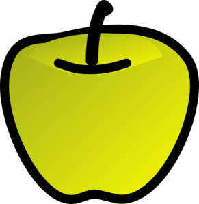 Green Apple Clip Art
